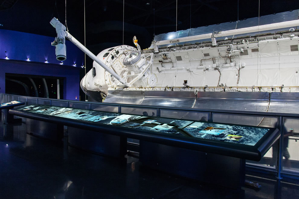 Space Shuttle Atlantis Attraction Kennedy Space Center Visitor Complex