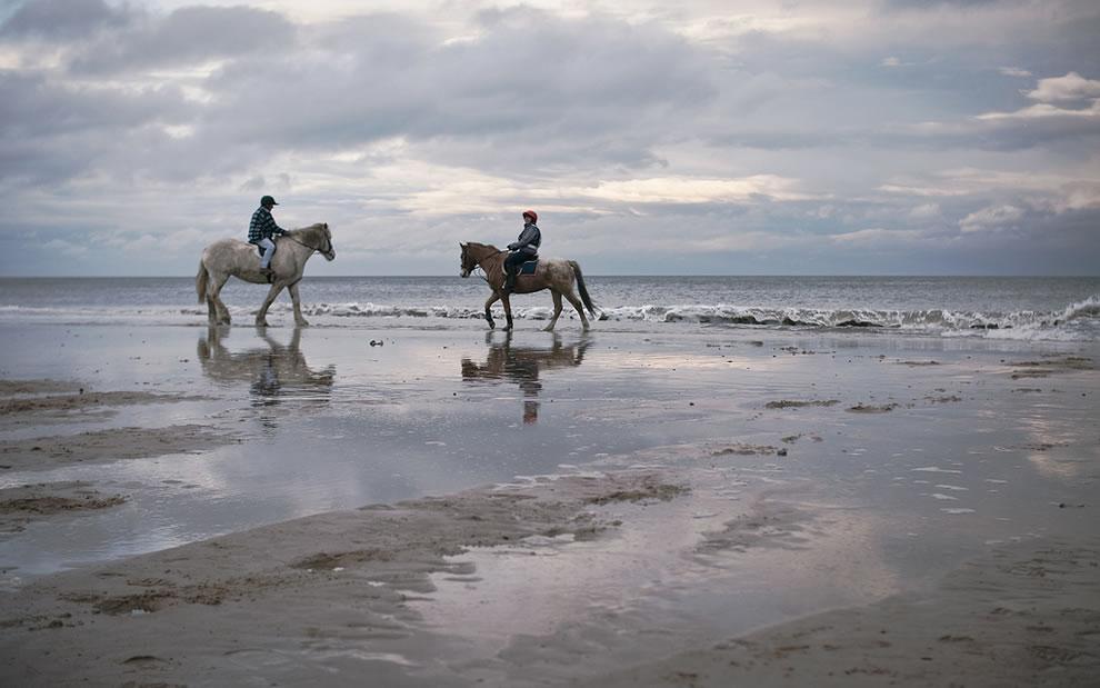 Two Beautiful Couples, Whitley Bay, Northumberland, UK