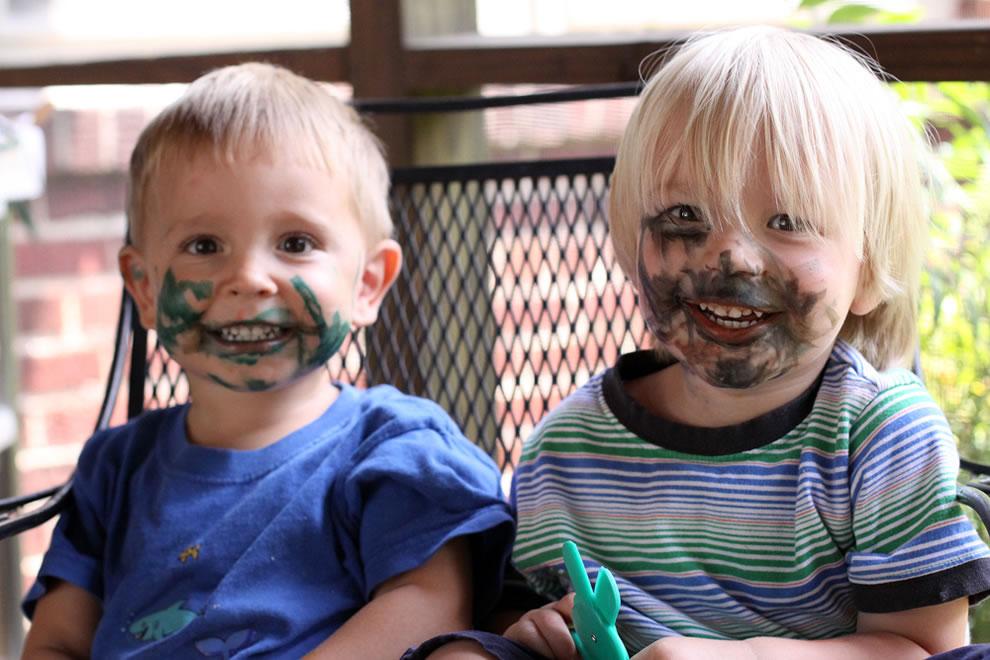 We weren't eating markers