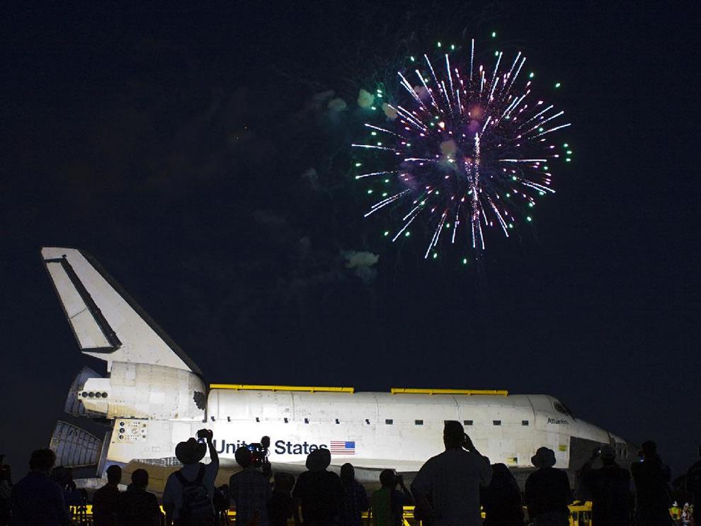 Fireworks over Atlantis, 2012