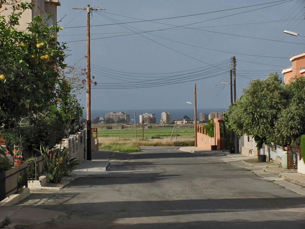 An abandoned world behind the end of the street, 2012 Varosha