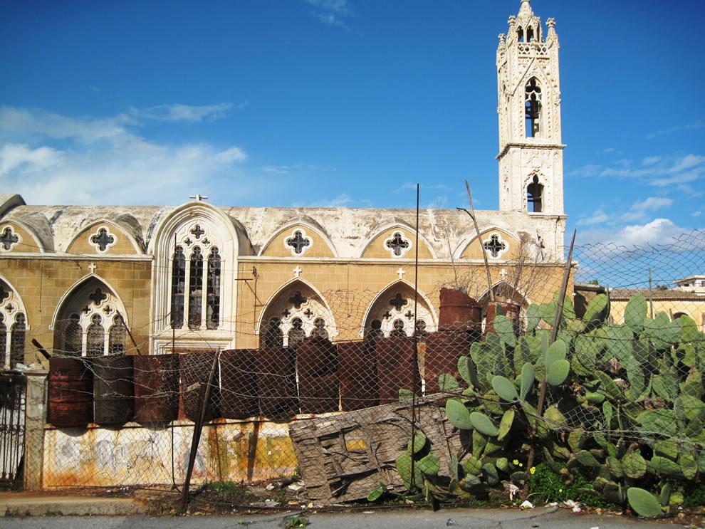 Cyprus, Famagusta Varosha ghost town falling to ruins