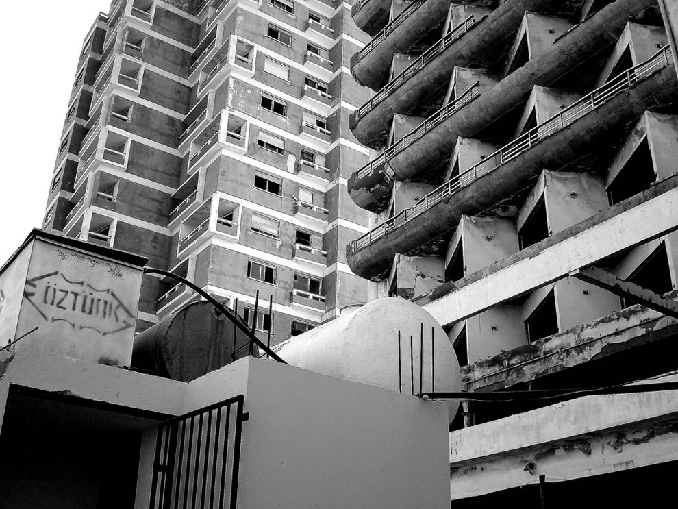 Famagusta in black and white