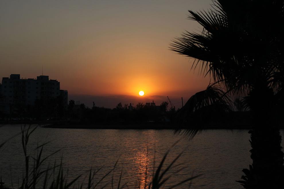 Sunset over Famagusta