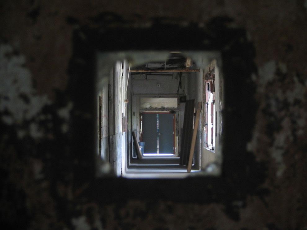 Waverly Hills hallway