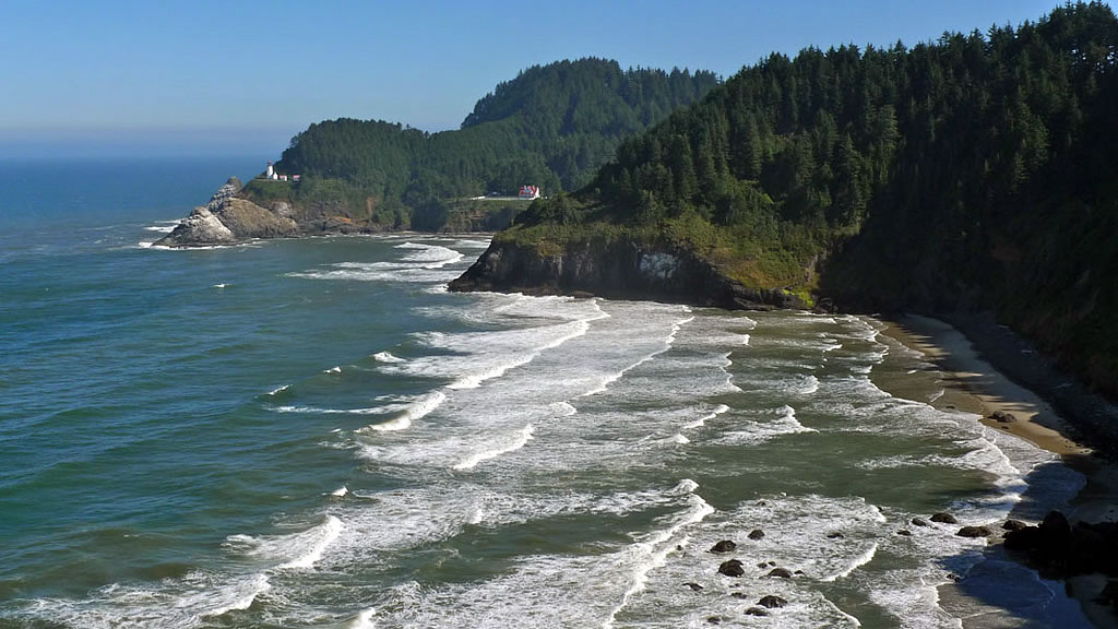 Cape Perpetua Scenic Area a special area within Siuslaw National Forest, Oregon