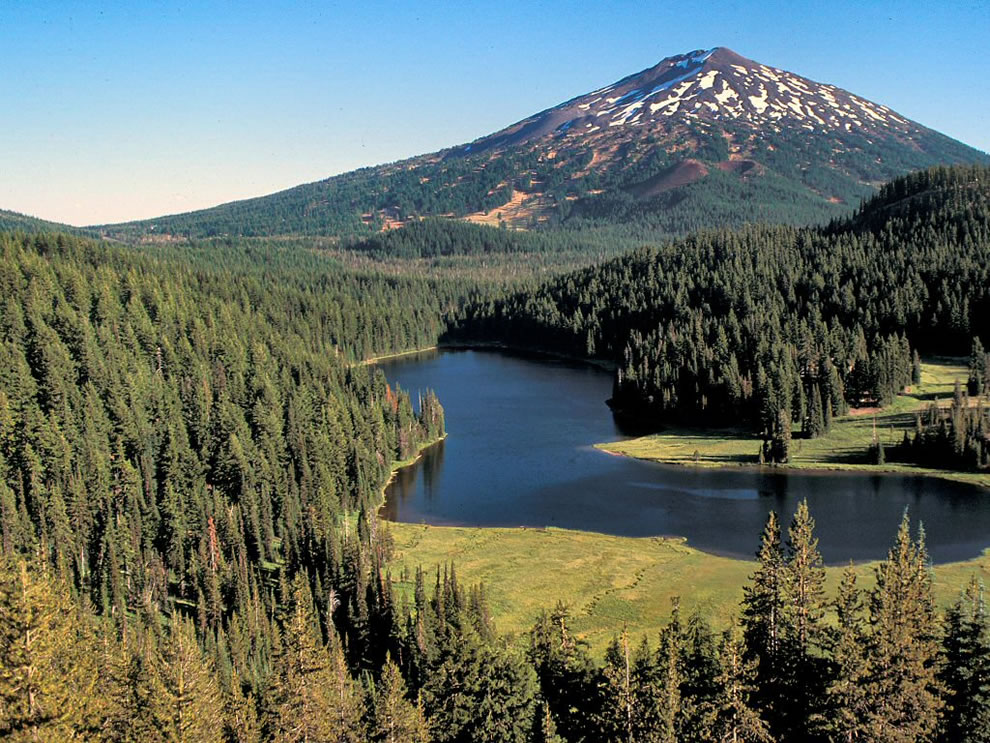 Deschutes National Forest, Mt Bachelor and Todd Lake
