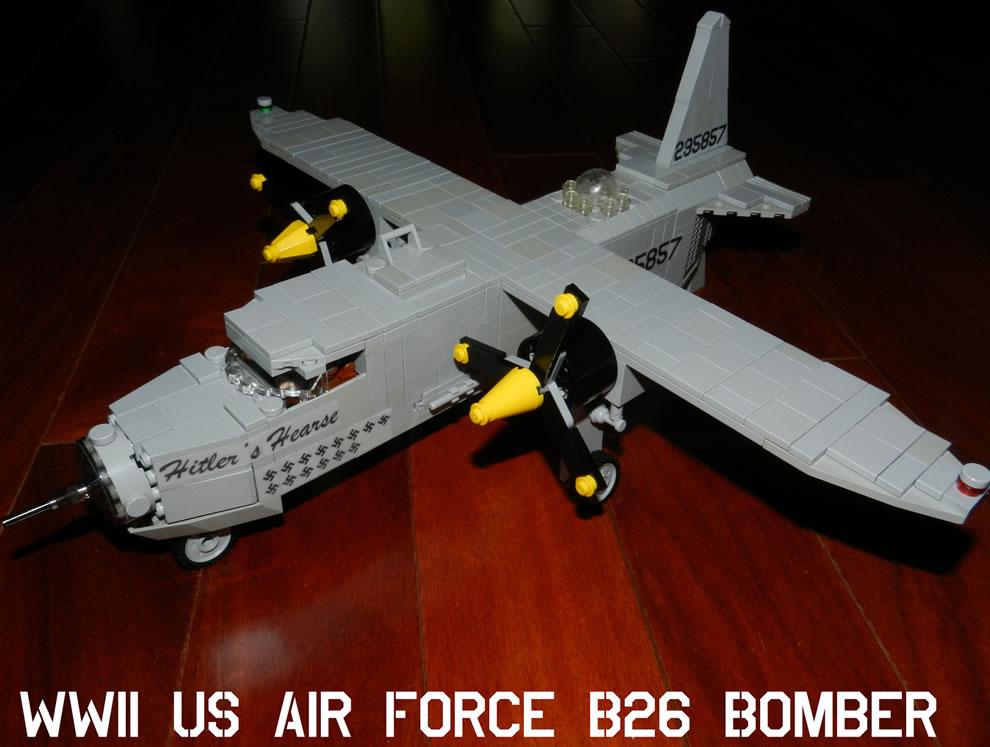 Hitler's Hearse WWII USAF B26 Bomber