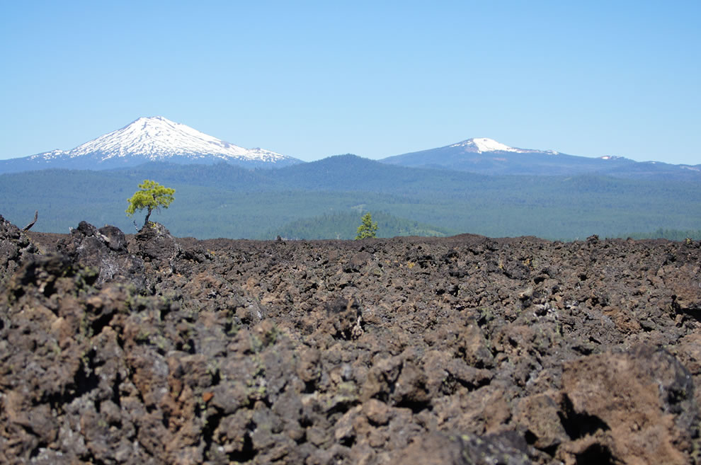 Lava Butte is part of the Newberry National Volcanic Monument