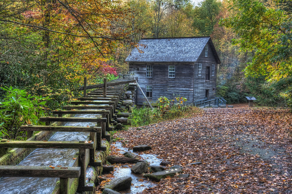 Mingus Mill, Great Smoky Mountains National Park