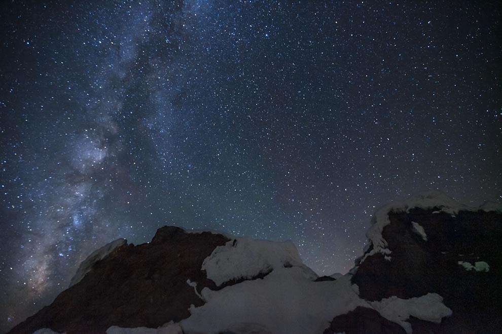 Mt Hood Crater Rock