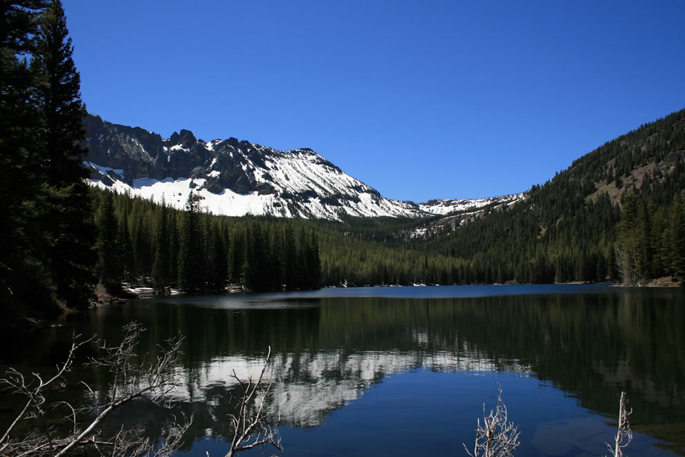 Strawberry Lake, Strawberry Mountain Wilderness Area located within the Malheur National Forest, Oregon