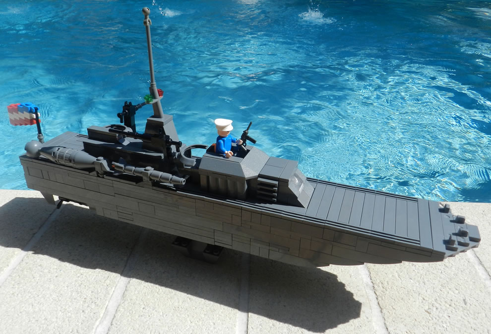 US Navy WWII PT151 Torpedo Boat