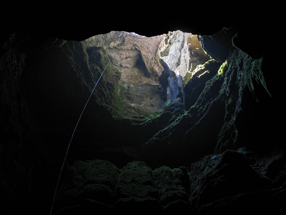 Cave on Mt. Ay-Petri, Crimea