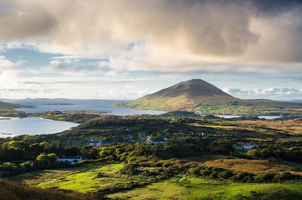 Diamond Hill view, Connemara National Park