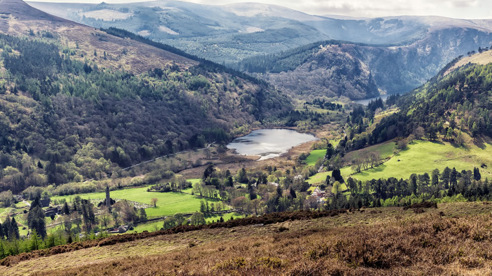 Glendalough Valley, Wicklow Mountains National Park