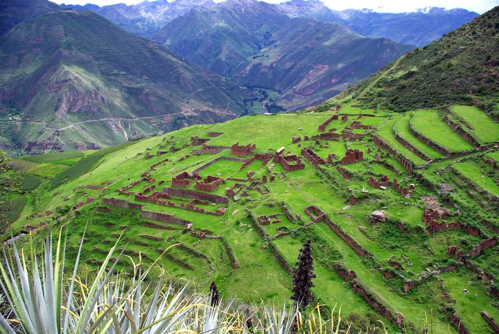 Huchuy Qusqu, Peru, Inca archaeological site