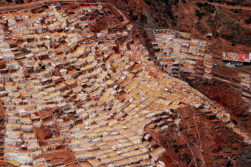 Inca Salt Ponds