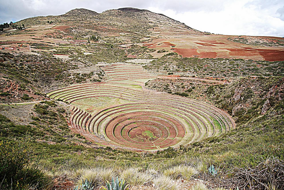 Moray, Inca agricultural experiment station