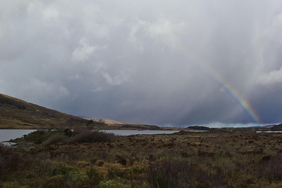 Rainbow over Glenveagh National Park