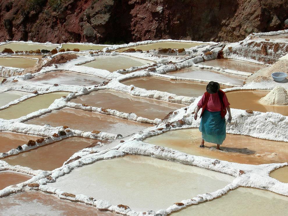 Salt pans, Salineras de Maras
