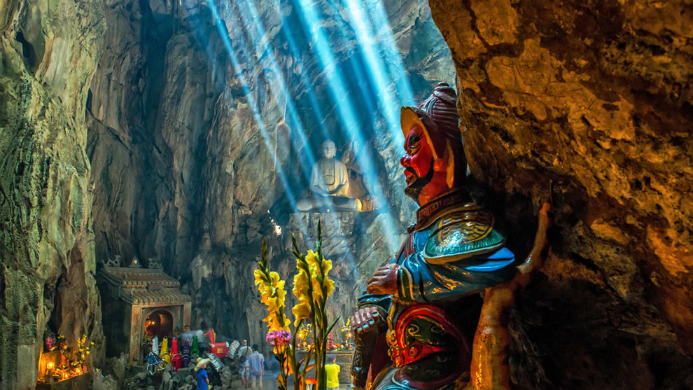 Huyen Khong cave Marble mountain, Da Nang, Vietnam