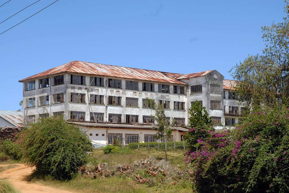Abandoned Monga Tea Factory in East Africa