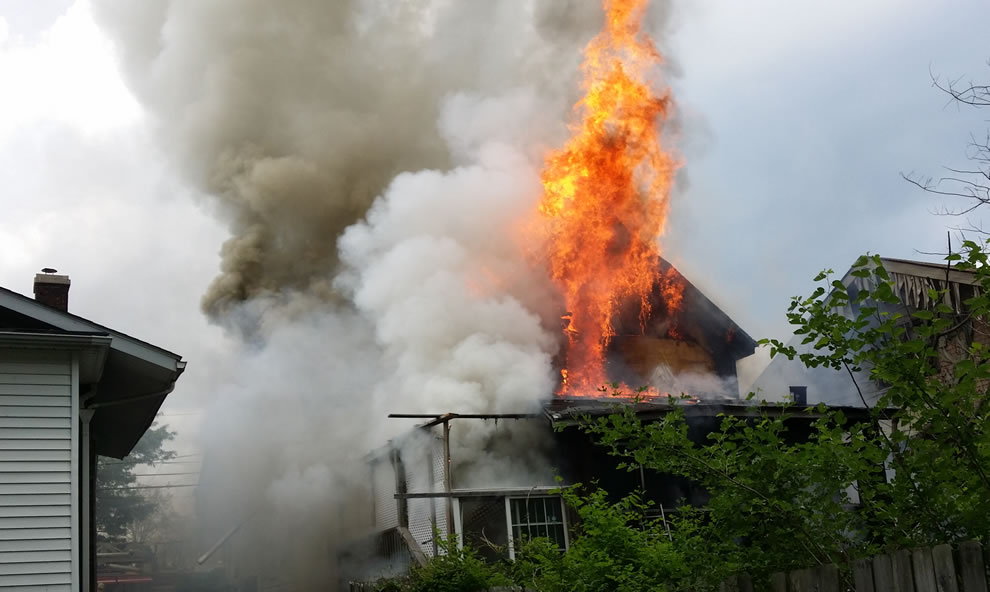 Fire dubbed as arson