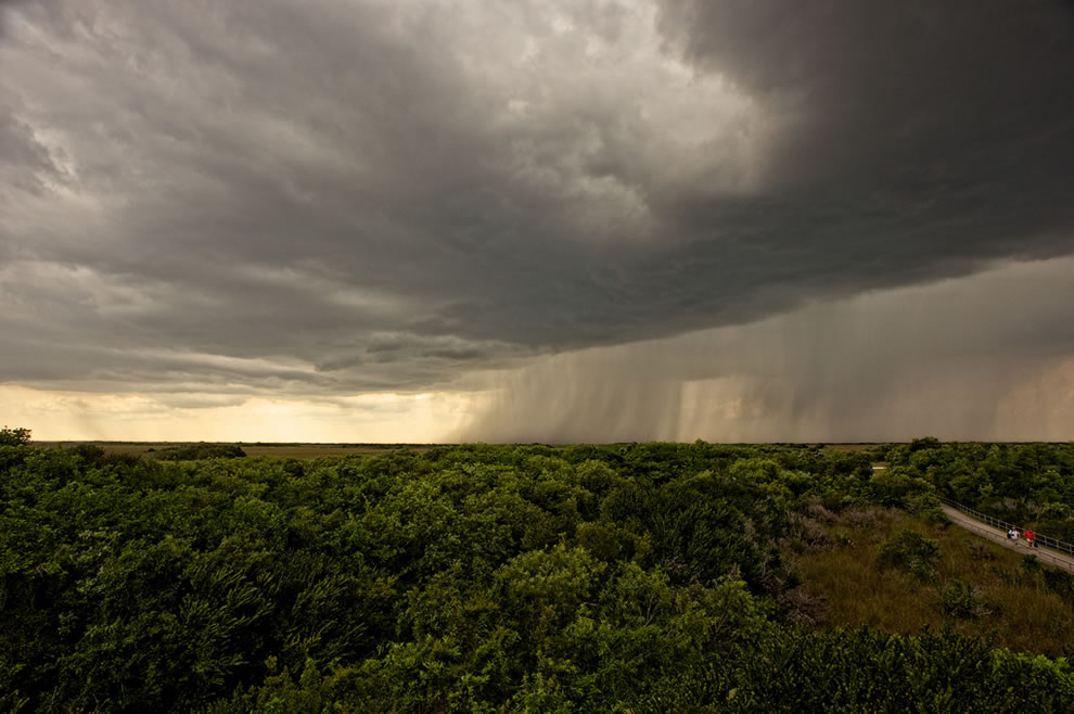 Storm coming to Everglades National Park