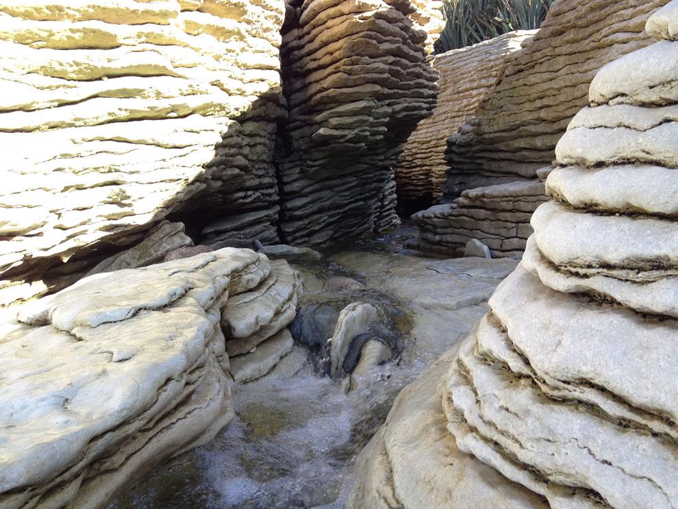 Among the Pancake Rocks at Punakaiki