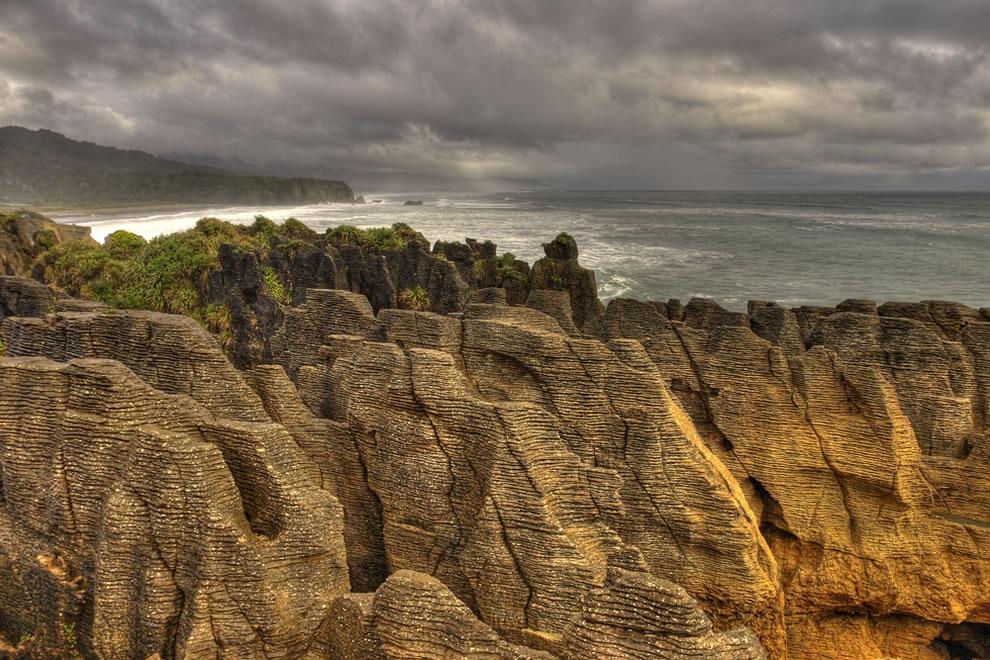 PUNAKAIKI PANCAKES ROCKS - NEW ZEALAND