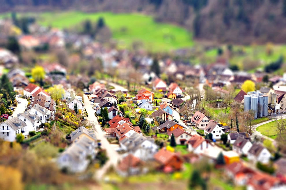 Miniature town of Sulzburg, Germany