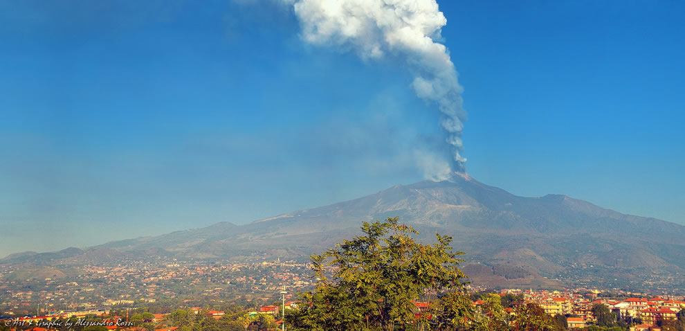 Mount Etna's fury in Oct 2013