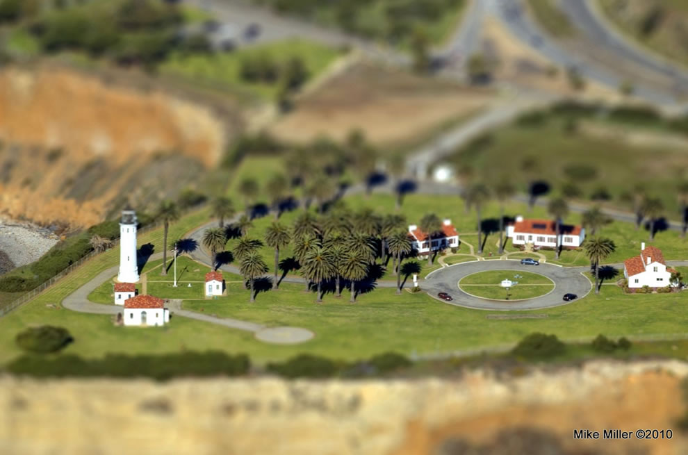 Pt. Vicente Lighthouse Tilt-Shift