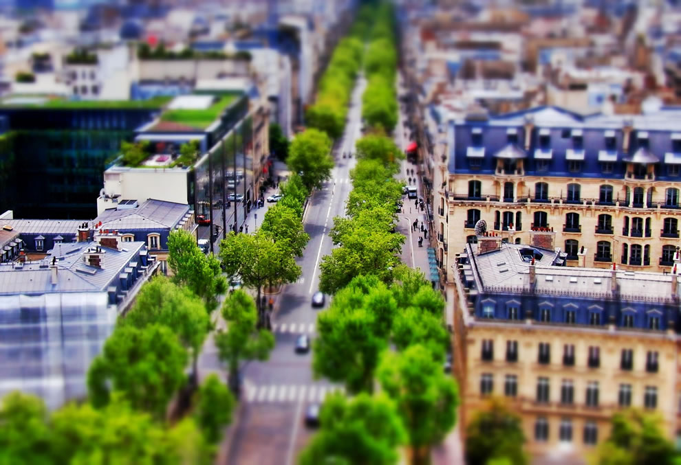 Tilt Shift Paris Series, Avenue Kleber