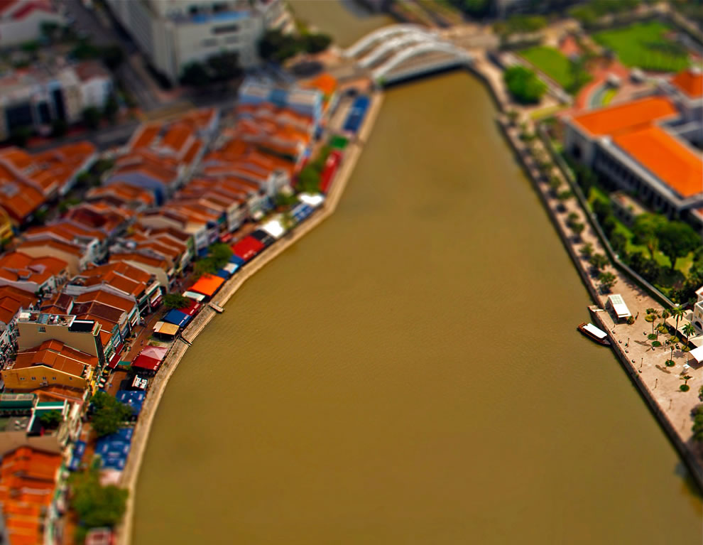 Tilt shift point of view