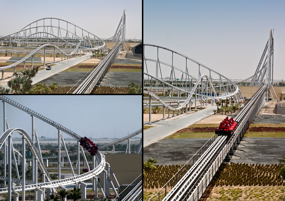Formula Rossa is the world's fastest steel roller coaster