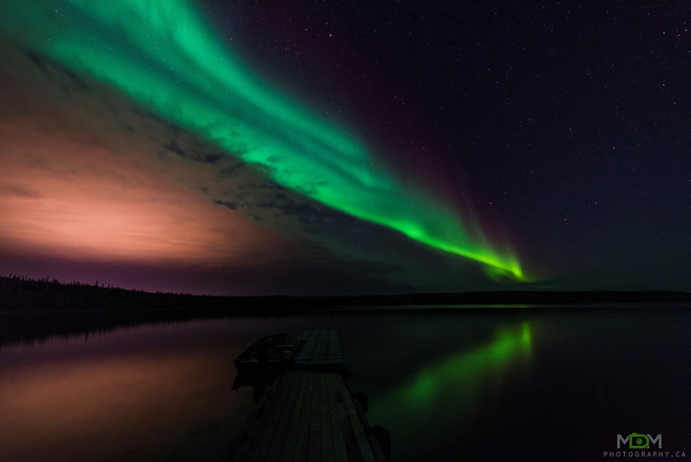 Northern Lights in the Yellowknife area