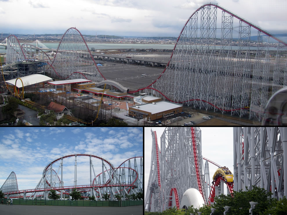 Steel Dragon 2000, the longest roller coaster in the world