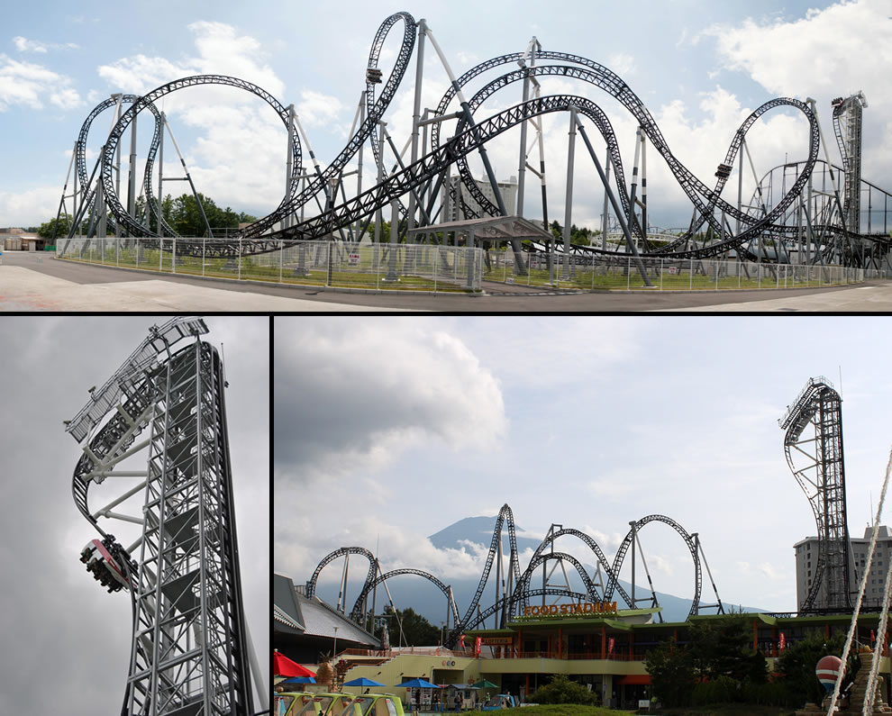Takabisha is world's steepest steel roller coaster