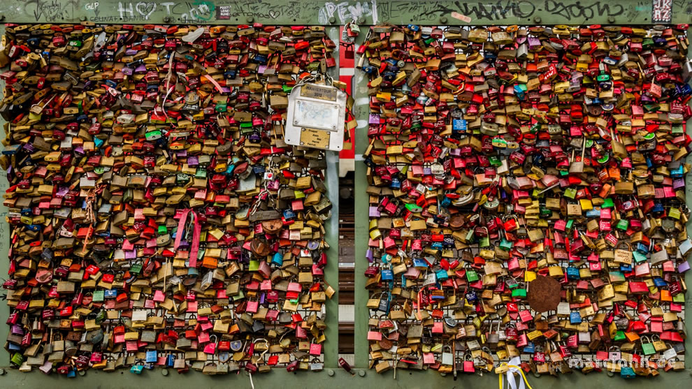 Cologne Cathedral Love Locks