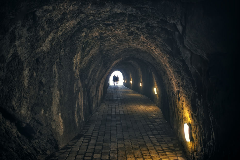 Eastbourne UK tunnel of love