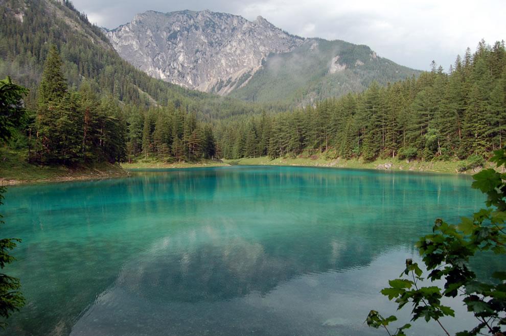 Grüner See in Tragöß