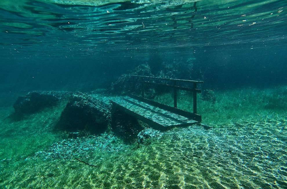 Green Lake underwater bridge