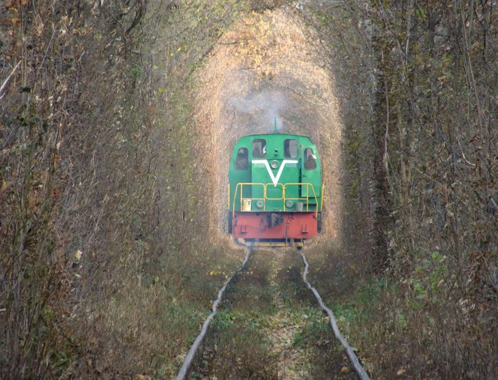 Green Mile Tunnel aka Tunnel of Love