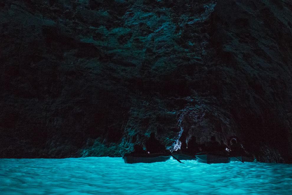 Grotta Azzurra at Capri, Italy