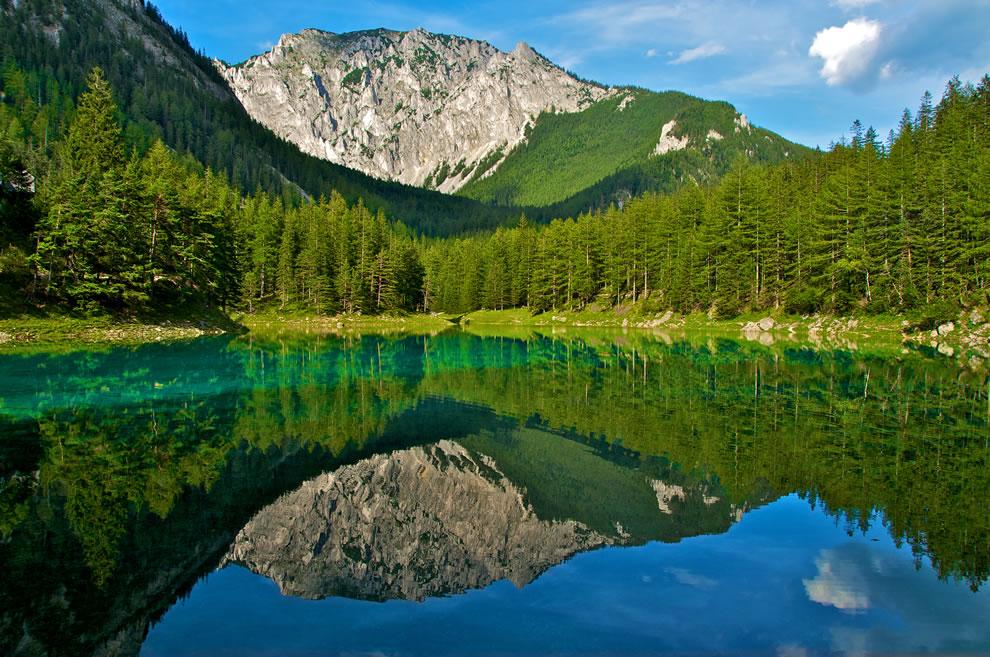 Summer, August at Green Lake