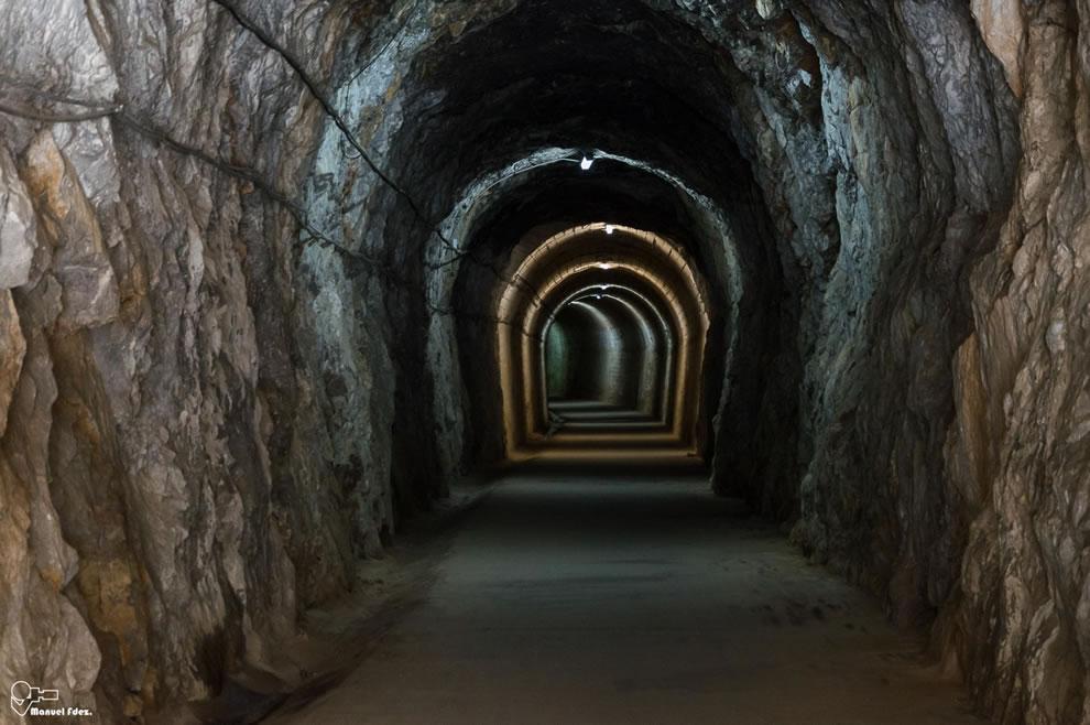 Tunnel of love by in Arnedillo Spain