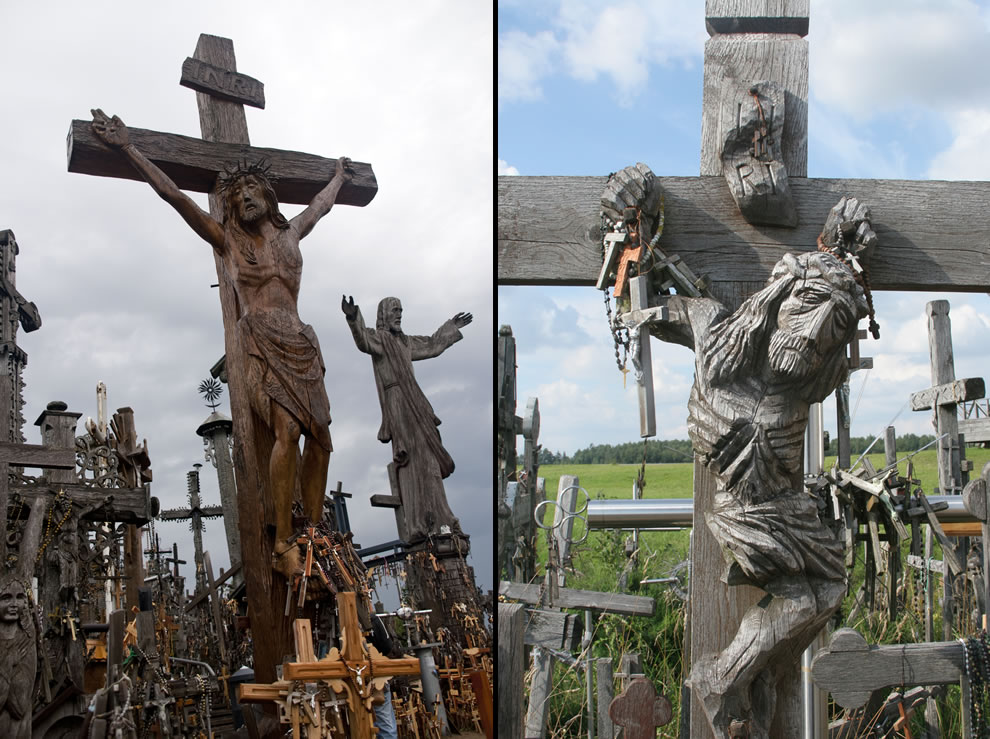Crucifixion at Hill of Crosses