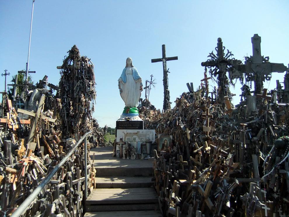 Hill of Crosses, Siauliai, Lithuania